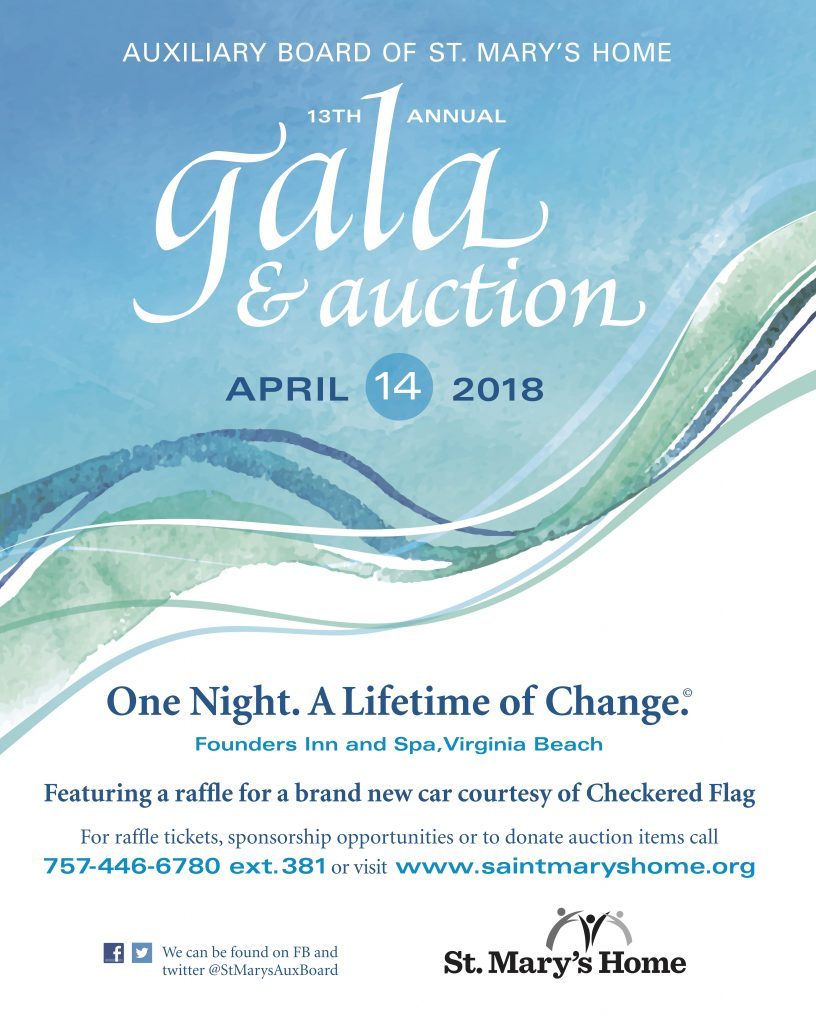Join us for our 2018 Auxiliary Gala and Auction!