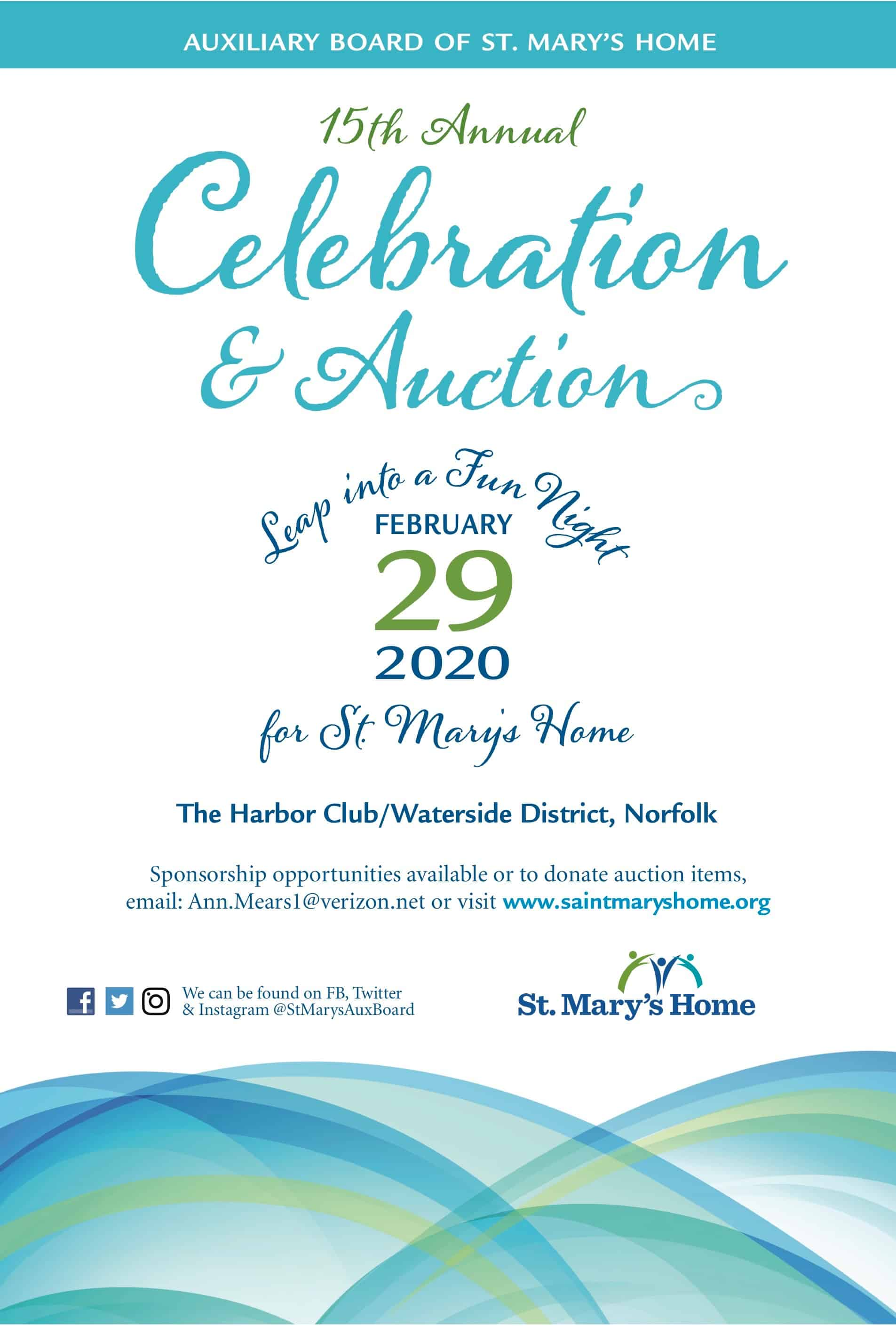 St Marys Celebration 2020 12.5×18.5 poster